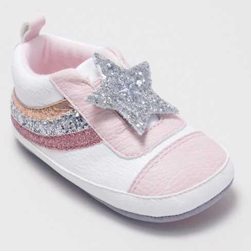 Baby Girls' Ro+Me by Robeez Slip On Shoes - Pink - image 1 of 4