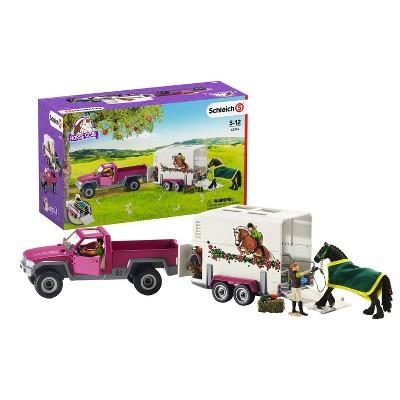 Schleich Truck and Horse Trailer Set