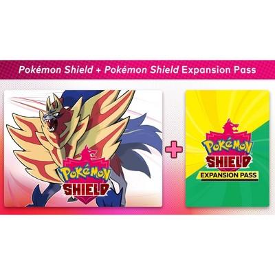 Pokemon Shield + Pokemon Shield Expansion Pass - Nintendo Switch (Digital)