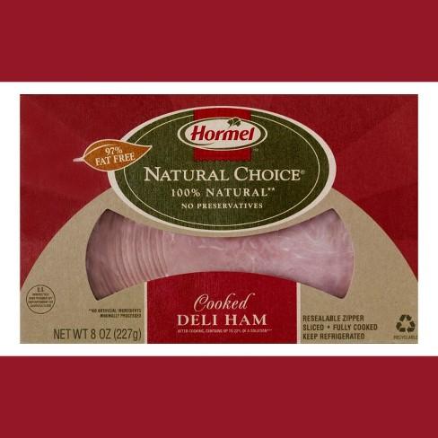 Hormel Natural Choice Sliced Cooked Deli Ham - 8oz - image 1 of 1