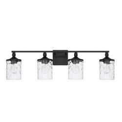 "Capital Lighting 128841-451 Colton 4 Light 34"" Wide Bathroom Vanity Light"