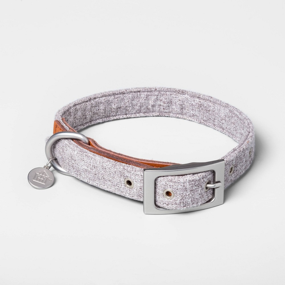 Image of Large Pet Collar Gray - Hearth & Hand with Magnolia