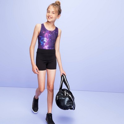 Girls' Gymnastic Shorts - More than Magic™ Black