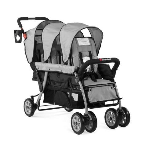 Foundations Trio Sport 3-Passenger Stroller - Gray - image 1 of 4