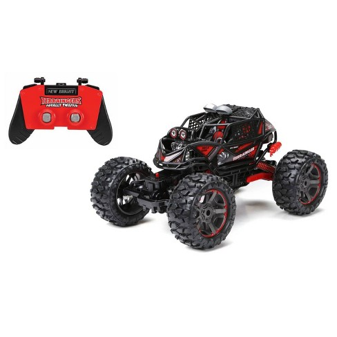 New Bright1:10 R/C Terraingers Rock Climber 4x4 - Red - image 1 of 4