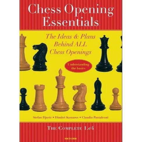 Chess Opening Essentials - by  Stefan Djuric & Dimitry Komarov & Claudio Pantaleoni (Paperback) - image 1 of 1