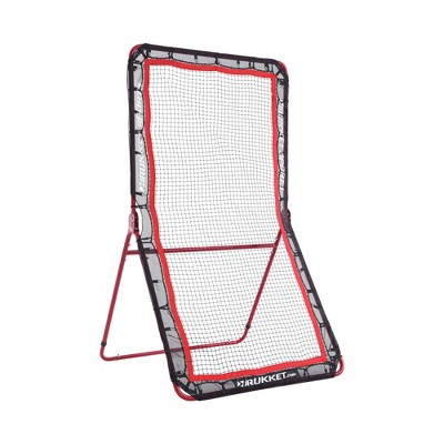 Rukket Sports 4 x 7 Foot Lacrosse Baseball Softball Football Rebounder Pitching Throwing Pitchback Training Screen