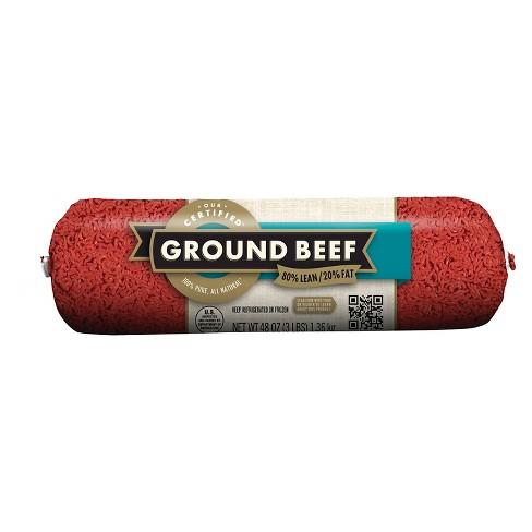 80/20 Ground Chub - 3lb - Market Pantry™ - image 1 of 1
