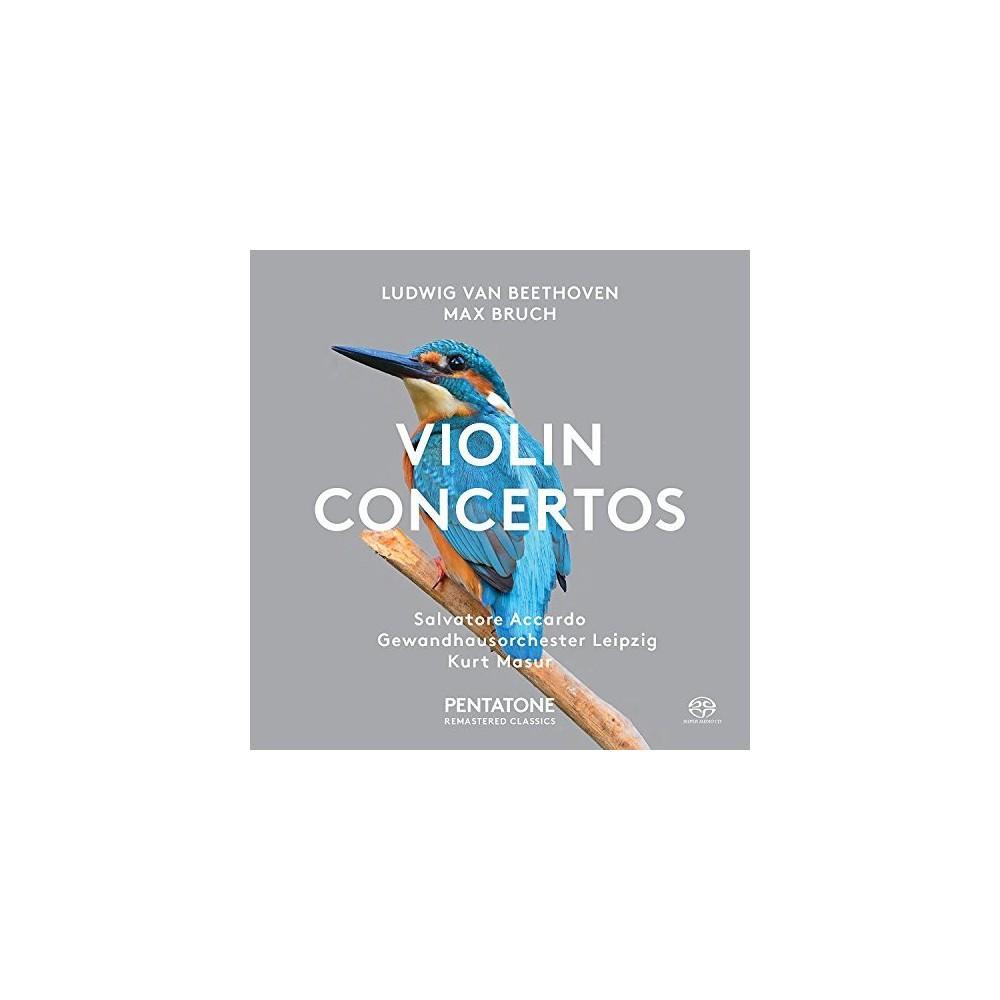 Salvatore Accardo - Beethoven/Bruch:Violin Ctos (CD) Salvatore Accardo - Beethoven/Bruch:Violin Ctos (CD)