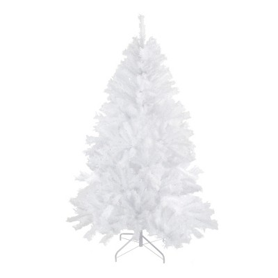Northlight 7' Unlit Artificial Christmas Tree Icy White Spruce