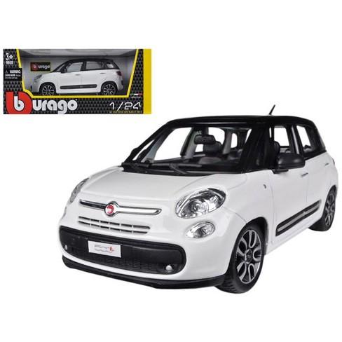 Fiat 500l White 1 24 Diecast Car Model By Bburago Target