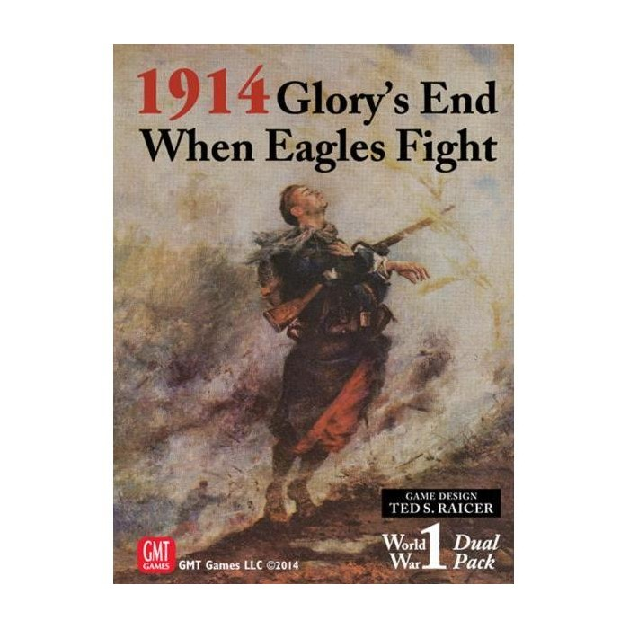 1914 - Glory's End / When Eagles Fight Board Game - image 1 of 2