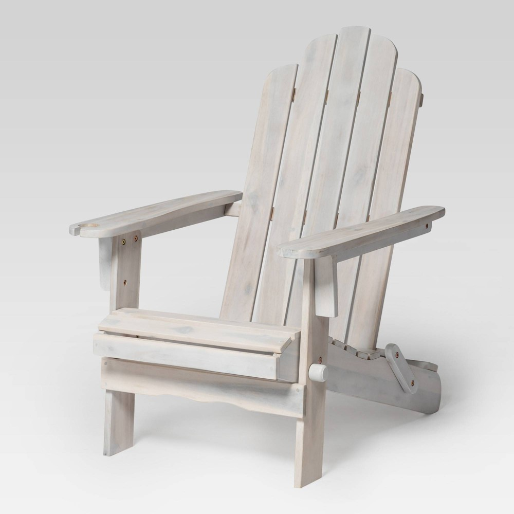 Awe Inspiring Patio Wood Adirondack Chair White Wash Saracina Home Gamerscity Chair Design For Home Gamerscityorg