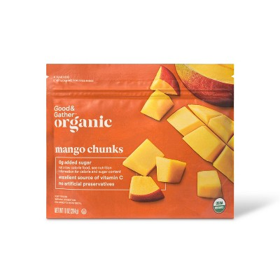 Organic Frozen Mango Chunks - 10oz - Good & Gather™