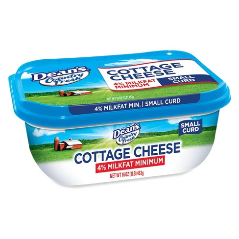 Dean's Small Curd Cottage Cheese - 16oz - image 1 of 1
