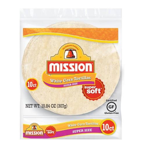 Mission White Corn Tortillas 10ct - 10.6oz - image 1 of 2