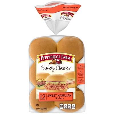 Pepperidge Farm Bakery Classics Sweet & Soft Slider Buns - 15oz/12ct
