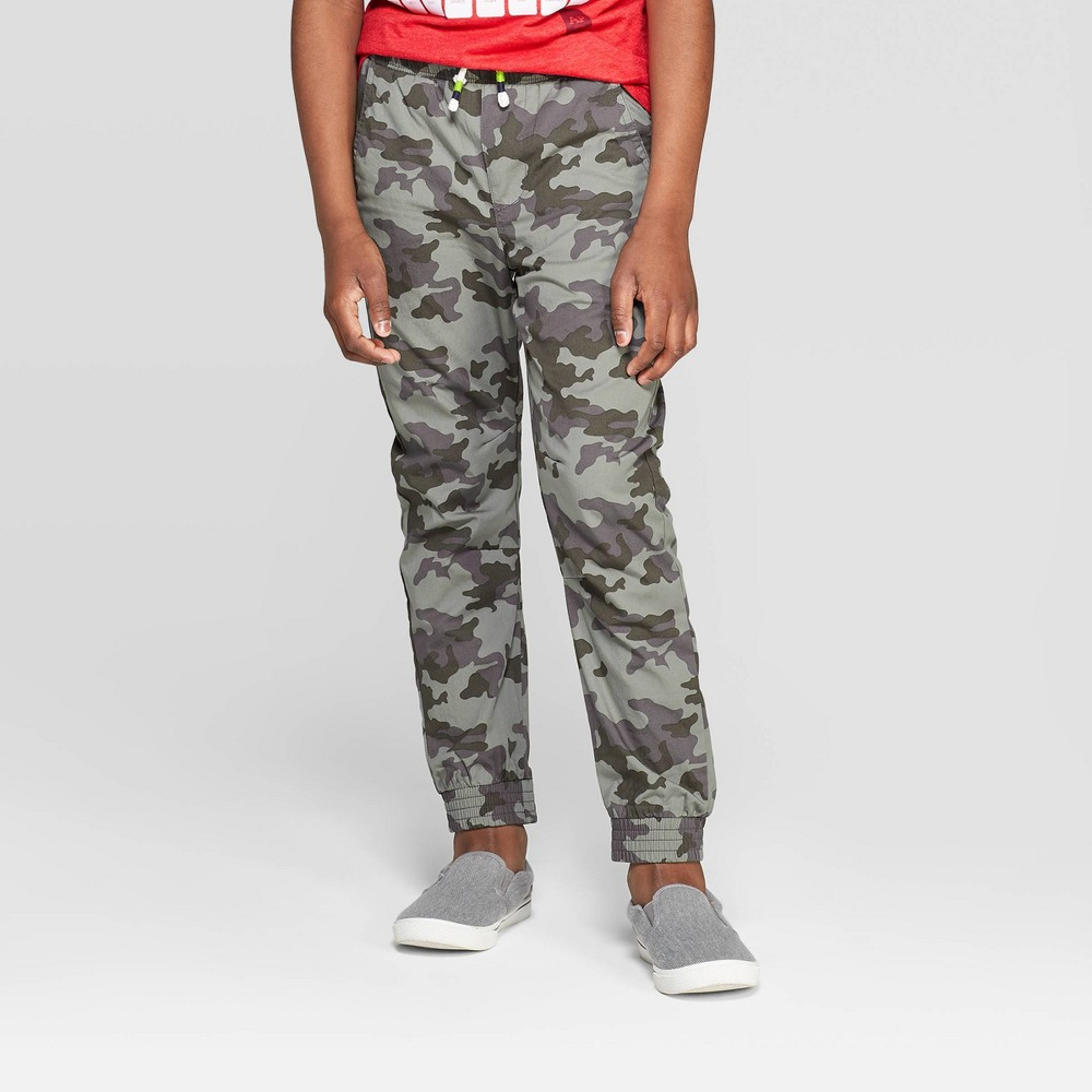 overBoys' Lined Pull-On Jogger Pants - Cat & Jack Green 12 Husky was $16.99 now $11.04 (35.0% off)