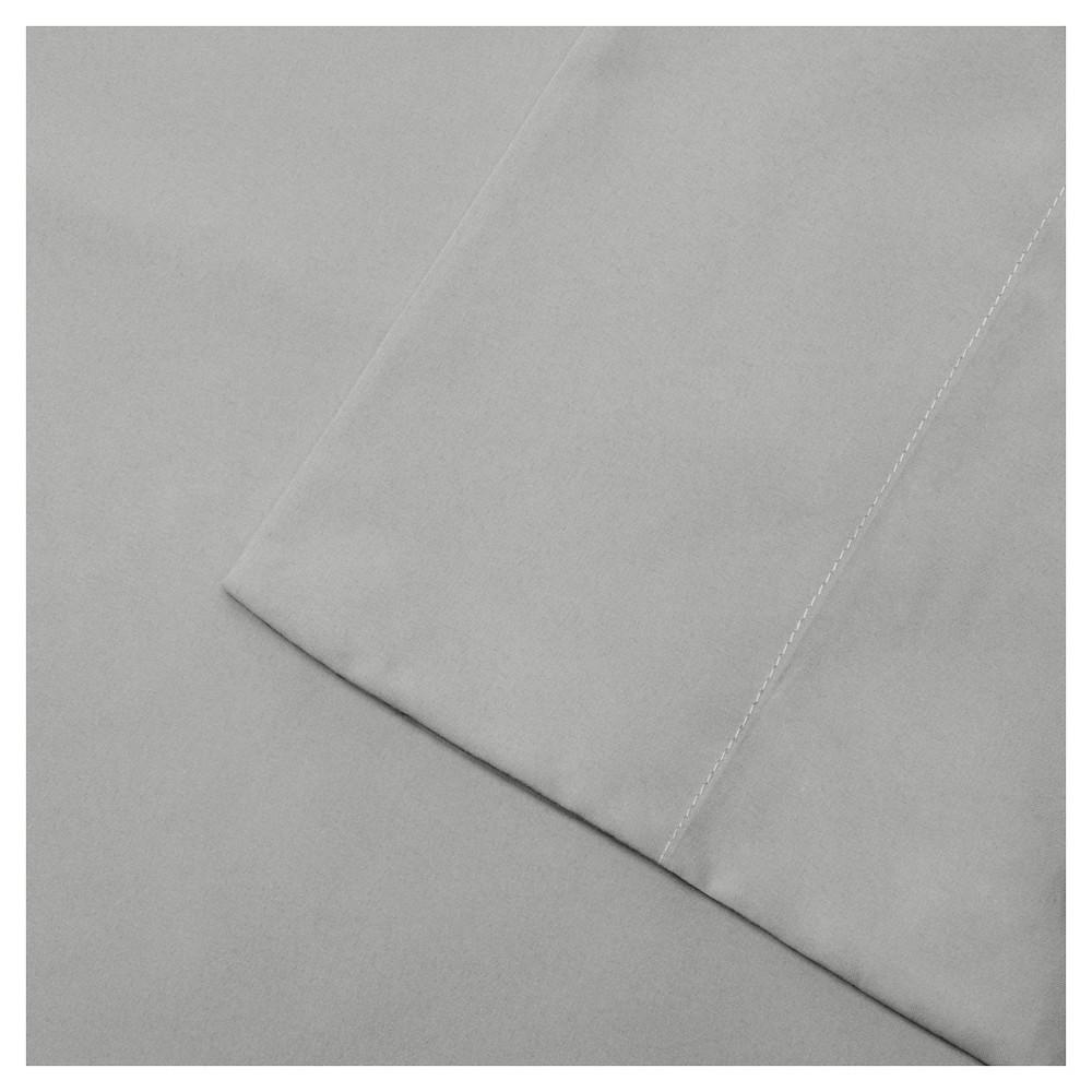 Twin 3M Microcell All Season Moisture Wicking Lightweight Sheet Set Gray