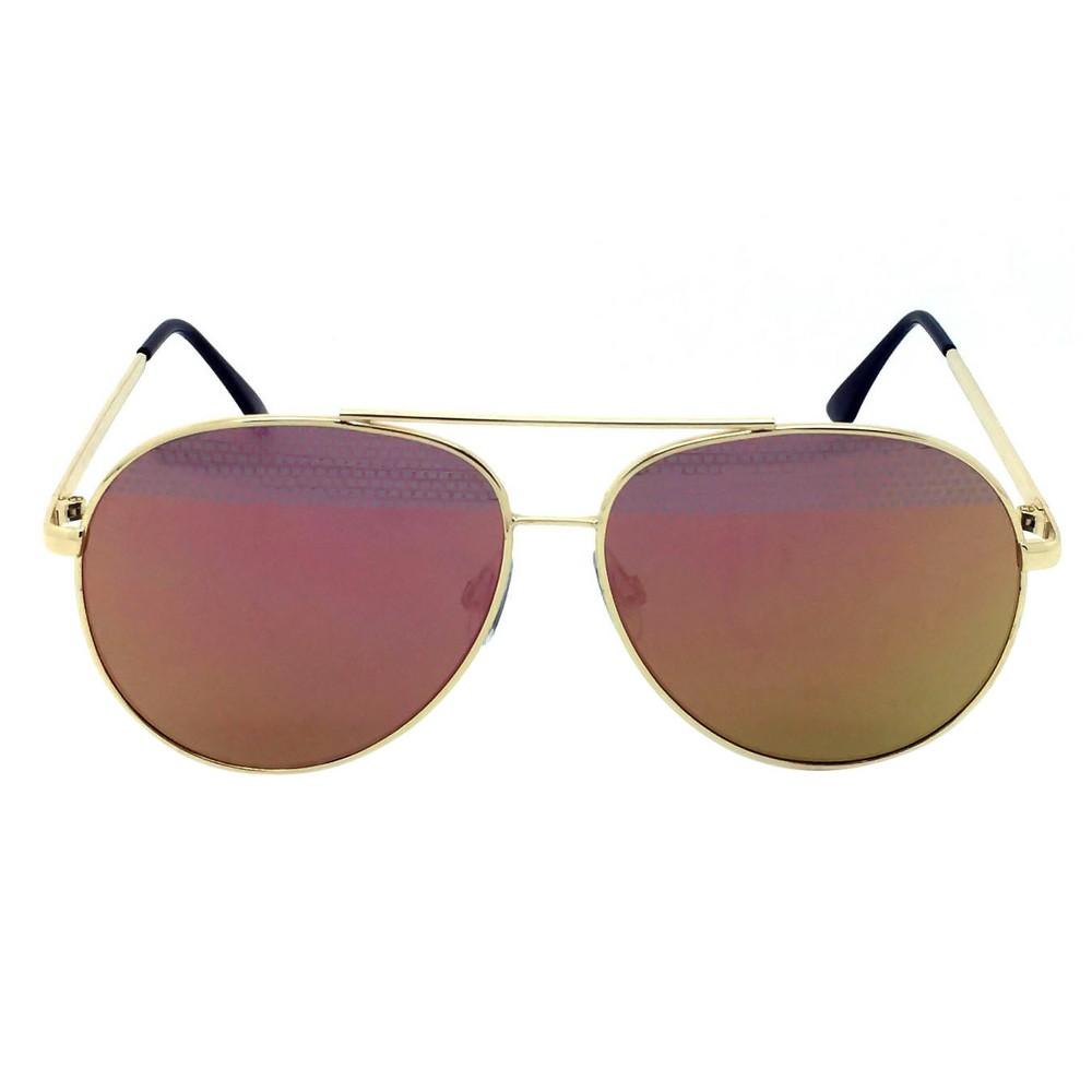 Women's Aviator Sunglasses - Gold