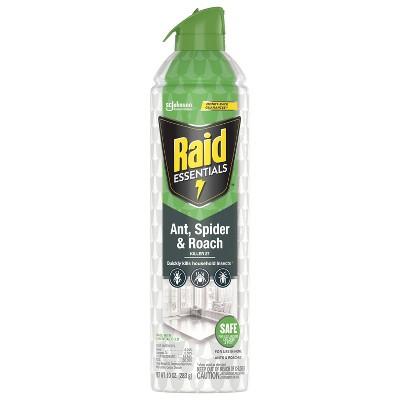Raid Essentials Ant, Spider & Roach Killer 27 Aerosol - 10 oz