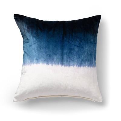 """20""""x20"""" Ombre Decorative Throw Pillow Blue - SureFit"""