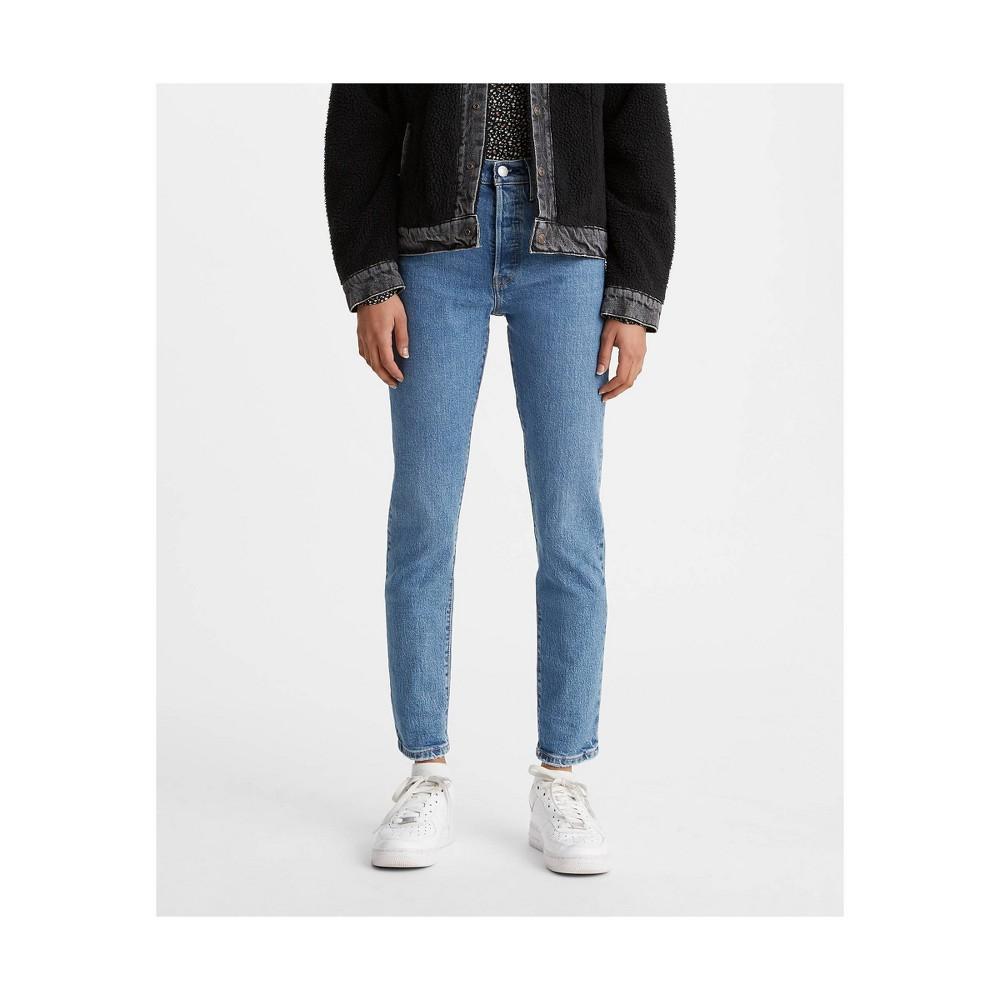 Levi 39 S 174 Women 39 S 501 174 Super High Rise Skinny Jeans Jive Tides 26x30