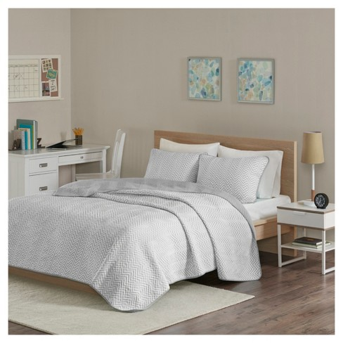 Keya Cotton Blend Jersey Knit Quilt Set - image 1 of 5
