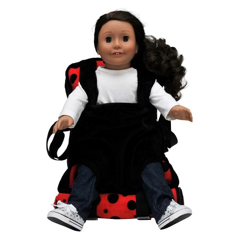 45508311f124 The Queen s Treasures Child Size Ladybug Backpack With 18