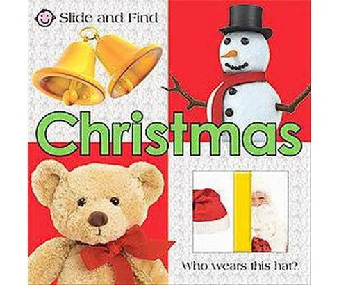 Slide and Find Christmas (Board) by St. Martin's Press LLC - image 1 of 1