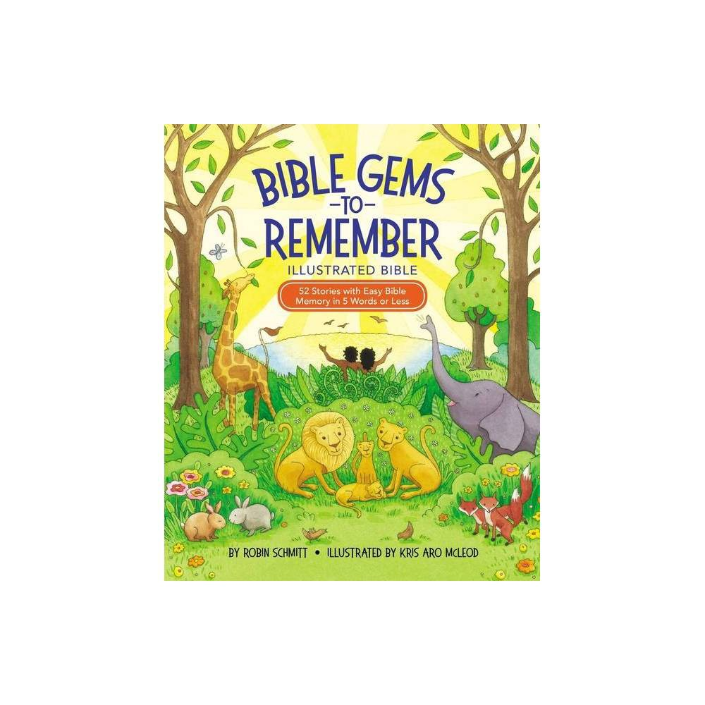 Bible Gems To Remember Illustrated Bible By Robin Schmitt Hardcover