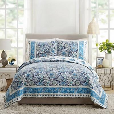 Bisou Floral Quilt Set - Dena Home