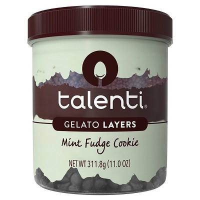 Talenti Gelato Layers Mint Fudge Cookie - 11oz