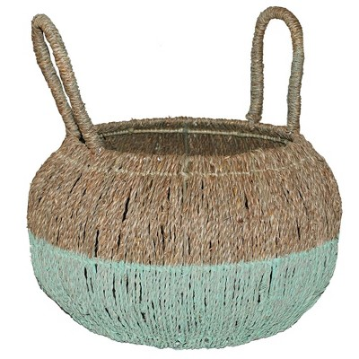 16.5 x17  Decorative Basket Natural Green - Opalhouse™
