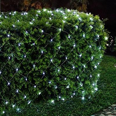 Kurt Adler 300-Light 6' Starburst Cool White LED Net Light