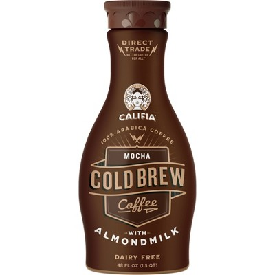Califia Farms Mocha Cold Brew Coffee - 48 fl oz