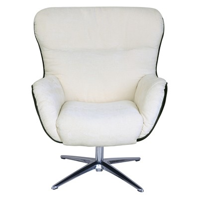 Style Rylie Collaboration Lounge Chair Cream/Black Synergy - Serta