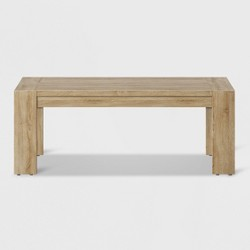 Montpelier Wood Rectangle Patio Coffee Table - Smith & Hawken™