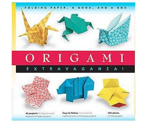 Origami Extravaganza : Folding Paper, a Book, and a Box (Paperback) - image 1 of 1