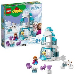 LEGO DUPLO Princess Frozen Ice Castle 10899 Toy Castle Building Set with Frozen Characters