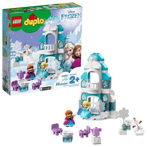 LEGO DUPLO Princess Frozen Ice Castle Toy Castle Building Set with Frozen Characters 10899 - image 1 of 4
