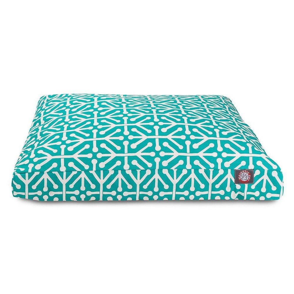 Majestic Pet Aruba Rectangle Dog Bed Pacific Medium