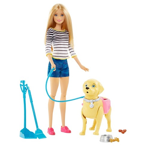 Barbie Walk and Potty Pup Doll and Playset - image 1 of 11