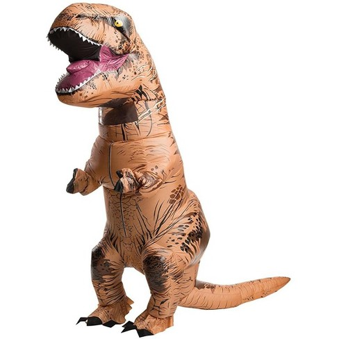 Rubies Jurassic World T-Rex Inflatable Adult Costume Standard - image 1 of 1