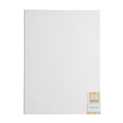 "11"" x 14"" Rectangular Canvas White - Hand Made Modern®"