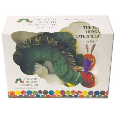 The Very Hungry Caterpillar Board Book and Plush - by Eric Carle (Mixed media product)