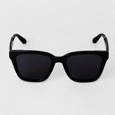 Men's Square Sunglasses - Goodfellow & Co™ Black