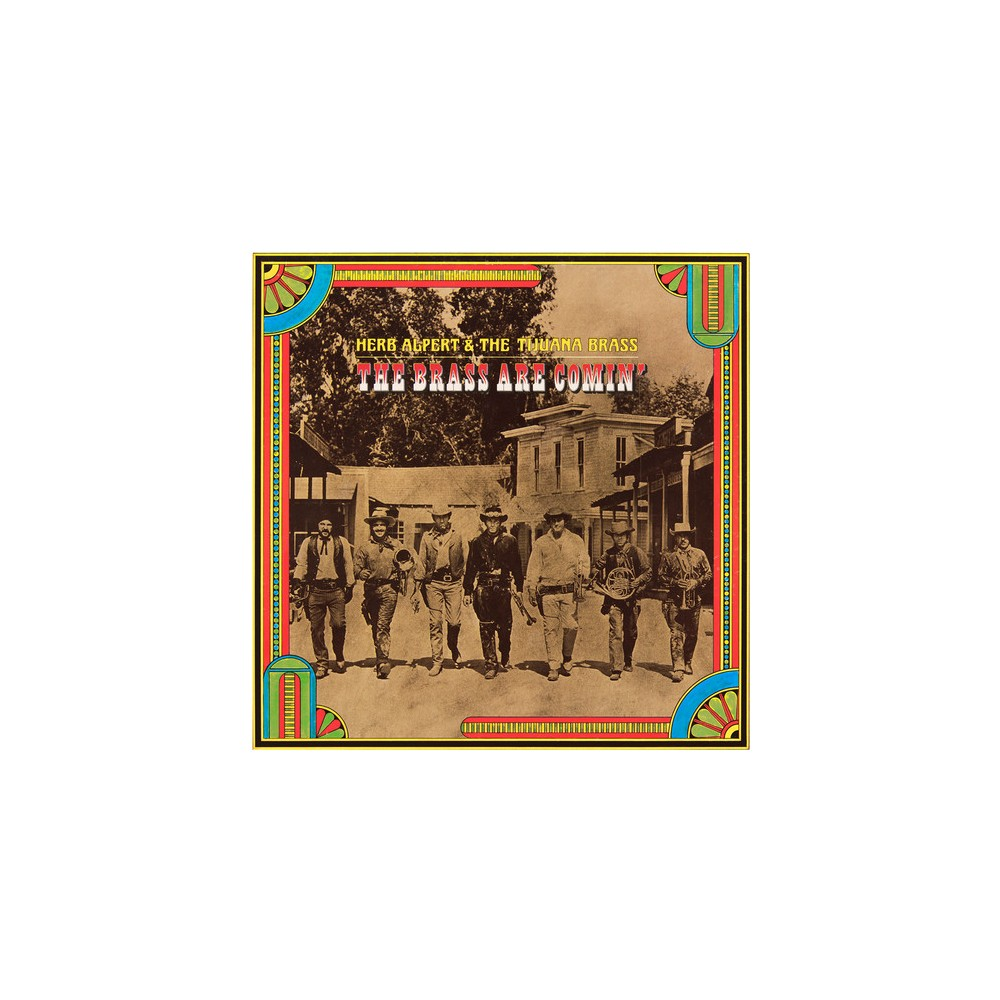 Herb & Tijua Alpert - Brass Are Comin (CD)