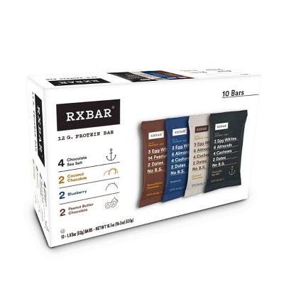 RXBAR Protein Bars Variety Pack - 10ct