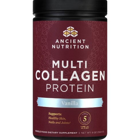Ancient Nutrition MultiCollagen Protein Powder - Vanilla - 9oz - image 1 of 4